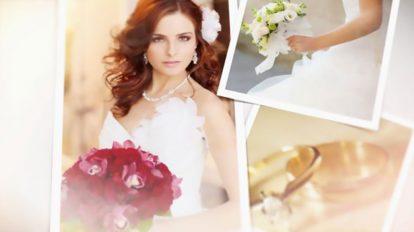 پروژه افترافکت نمایش عکس عروسی Wedding Photos