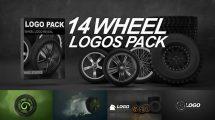پروژه افترافکت نمایش لوگو روی تایر ماشین Wheel Logos Pack