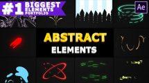 پروژه افترافکت انیمیشن اشکال انتزاعی Abstract Shapes