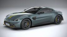 مدل سه بعدی خودرو استون مارتین Aston Martin Vantage AMR 2020