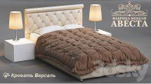 مدل سه بعدی تختخواب دونفره Bed Versailles