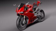 مدل سه بعدی موتور سیکلت Ducati 1199 Panigale 2012