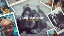 پروژه افترافکت اسلایدشو عکس Dynamic Frame Slideshow