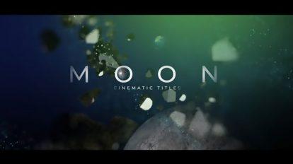 پروژه افترافکت نمایش عناوین سینمایی Fanstastic Moon Movie Titles