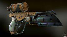 مدل سه بعدی شعله افکن Flamethrower