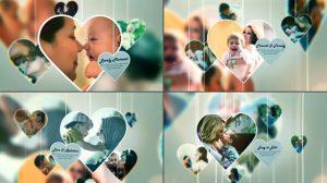 پروژه افترافکت اسلایدشو خانوادگی Happy Family Slideshow