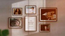 پروژه افترافکت اسلایدشو مینیمال Minimalist Slideshow