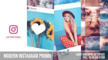 پروژه افترافکت تیزر تبلیغاتی اینستاگرام Modern Instagram Promo