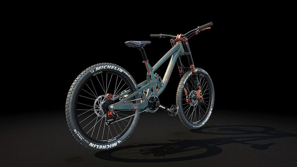 مدل سه بعدی دوچرخه کوهنوردی Mountain Bike 2
