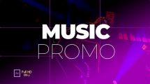 پروژه افترافکت تیزر تبلیغاتی کنسرت Music Event Promo