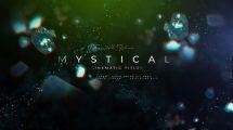 پروژه افترافکت افتتاحیه فیلم Mystical Film Opener