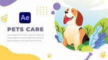 پروژه افترافکت افتتاحیه مرکز مراقبت حیوانات خانگی Pets Care and Veterinarian