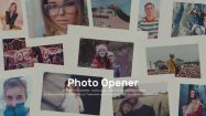 پروژه افترافکت اینترو نمایش عکس Photo Opener Intro