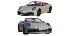 مدل سه بعدی خودرو پورشه Porsche 911 Carrera Cabriolet