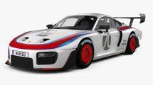 مدل سه بعدی خودرو پورشه Porsche 935 2019