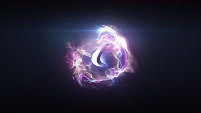 پروژه افترافکت نمایش لوگو کروی Quick Particle Sphere Logo