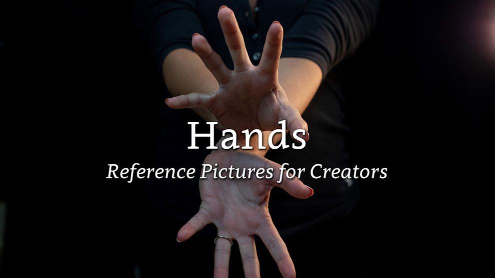 مجموعه تصاویر مرجع دست برای طراحی Hand Reference Pictures