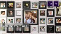 پروژه پریمیر نمایش عکس روی دیوار Romantic Photo Wall