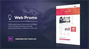 پروژه پریمیر تیزر تبلیغاتی وبسایت Soft Website Promo