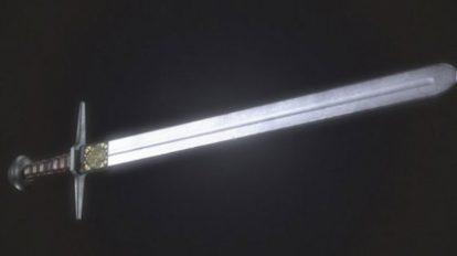 مدل سه بعدی شمشیر Sword