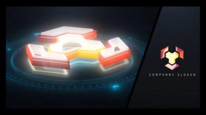 پروژه افترافکت تیزر نمایش لوگو هایتک Tech Logo Build