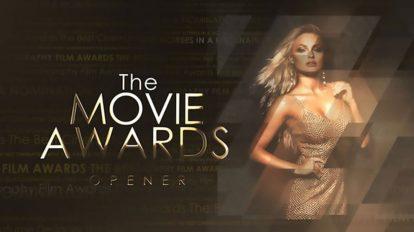 پروژه افترافکت افتتاحیه مراسم جوایز The Movie Awards Opener