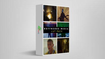 مجموعه پریست رنگ Buffnerds Media Luts