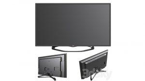 مدل سه بعدی تلویزیون ال سی دی ال جی TV LG 32LA620