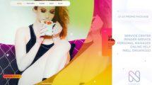 پروژه افترافکت تیزر تبلیغاتی رابط کاربری UI UX Promo