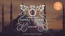 پروژه افترافکت نمایش عناوین عروسی Wedding Titles