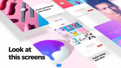 پروژه افترافکت تیزر تبلیغاتی اپلیکیشن XL Phone Promo