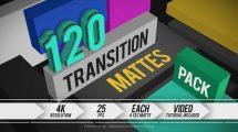 مجموعه فوتیج ترانزیشن مت Transition Mattes Pack