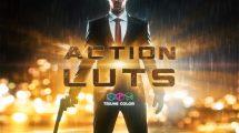 مجموعه پریست رنگ فیلم اکشن Action Film LUTs