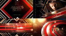 پروژه افترافکت برودکست مراسم جوایز Awards Show Broadcast Pack