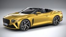 مدل سه بعدی خودرو بنتلی Bentley Mulliner Bacalar 2021