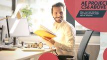 پروژه افترافکت اسلایدشو کسب و کار Business Slideshow