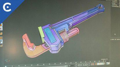 دوره آموزشی مدلسازی سطوح سخت با تکسچر UV در سینمافوردی