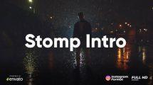 پروژه افترافکت افتتاحیه سریع Clean Stomp Opener