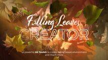 پروژه افترافکت ساخت انیمیشن ریزش برگ Falling Leaves Creator