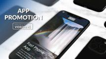پروژه افترافکت تیزر تبلیغاتی اپلیکیشن Fast Phone App Intro