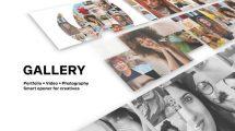 پروژه افترافکت گالری عکس و فیلم Gallery Photo and Video Logo Reveal