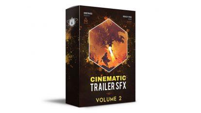 مجموعه افکت صوتی تریلر سینمایی Cinematic Trailer SFX Volume