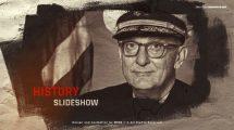 پروژه افترافکت اسلایدشو تاریخی History Slideshow