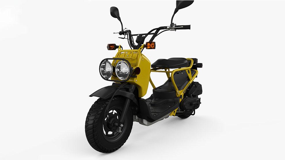 مدل سه بعدی موتور سیکلت Honda NPS50 Zoomer 2005