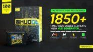 پروژه افترافکت ساخت المان هایتک HUDGE Generator of Hi-Tech Elements