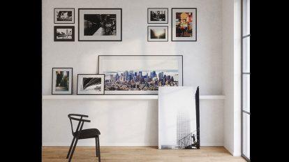 صحنه سه بعدی استودیو عکاسی Massimo Gnochi Photography Studio