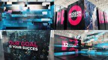 پروژه افترافکت افتتاحیه شرکتی Modern Technology Corporate