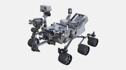 مدل سه بعدی ربات کاوشگر Nasa Curiosity Rover