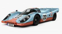 مدل سه بعدی خودرو پورشه Porsche 917 K 1969