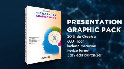 پروژه افترافکت پرزنتیشن گرافیکی Presentation Graphic Pack